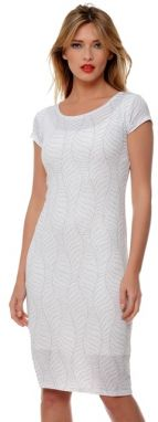 Natalee Dámske šaty RLN45 white   red 70c20db5207