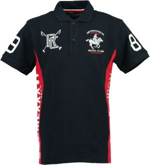 Geographical Norway Pánske polo tričko KEVIAN SS MEN 415_Navy / Red