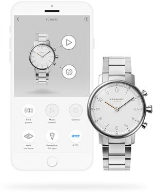 Kronaby Unisex hodinky Connected watch NORD A1000-0710
