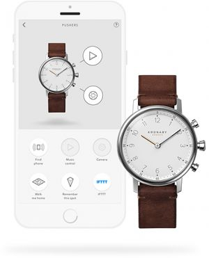 Kronaby Unisex hodinky Connected watch NORD A1000-0711