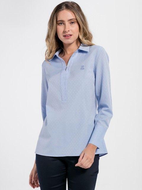 Jimmy Sanders Dámska košeľa 18S SHW4018 BABY BLUE značky Jimmy Sanders -  Lovely.sk 1600f5e7c12