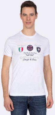 5518aebddf7a Giorgio Di Mare Pánske polo tričko GI2372548 White značky Giorgio Di ...