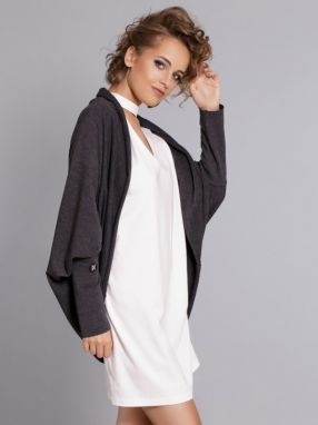 MDNZZ Dámsky cardigan MAD332_DARK_GRAY