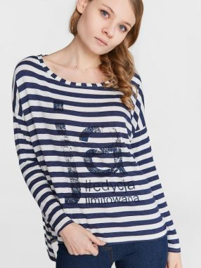 Blue Shadow Dámsky top sweater_Ja_navy blue