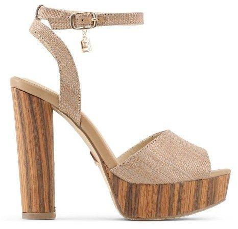 7f7d38c869eb Laura Biagiotti Dámske sandále 662 RAFIA BROWN značky Laura Biagiotti -  Lovely.sk