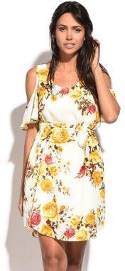 686ad0d93235 Assuili Dámske šaty 6873 - SOLINE BLANC značky Assuili - Lovely.sk