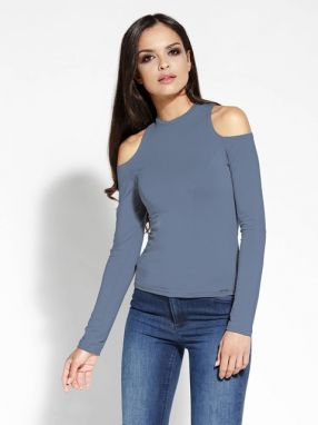 Dursi Dámsky top Blouse 036 GREY BLUE