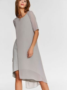 Blue Shadow Dámske šaty dress_tofu_gray