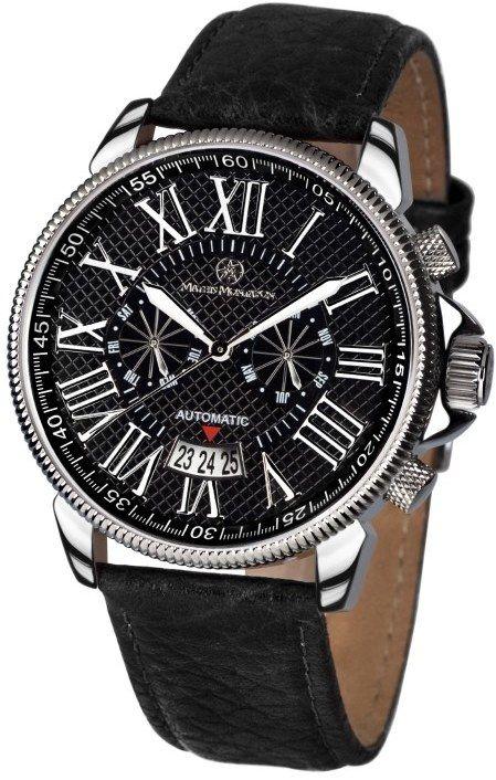Mathis Montabon Pánske automatické hodinky MM-04 Classique Moderne schwarz 950c626af18