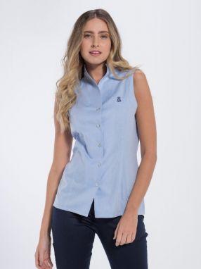 Jimmy Sanders Dámske košele 18S SHW4013 DARK BLUE značky Jimmy ... 0ed42dfb503