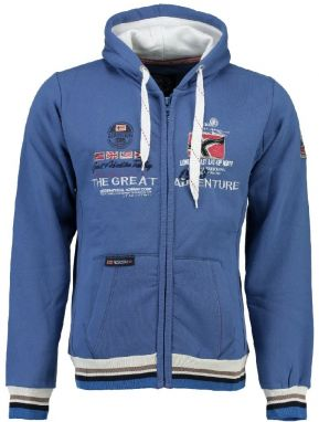 Geographical Norway Pánska mikina Grenouille MEN 100_Blue