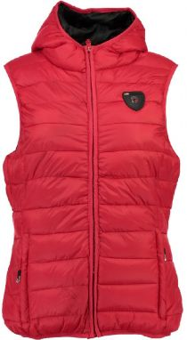 Geographical Norway Dámska vesta Volantis LADY HOOD 001_Red