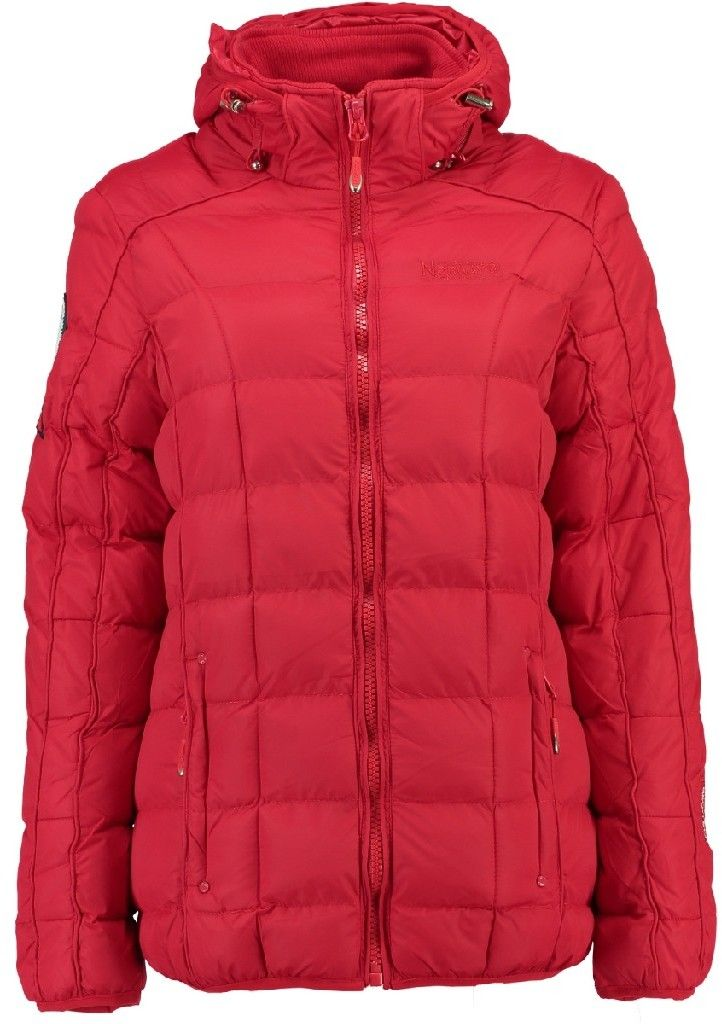 Geographical Norway Dámska bunda BARBOUILLE LADY SHORT 056 + RPT 2 Red  značky Geographical Norway - Lovely.sk 1611df7ef3e
