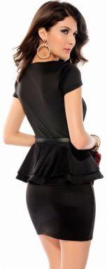 Flora Luna Dámske šaty FLA2827-2 BLACK značky Flora Luna - Lovely.sk 47860ebf020