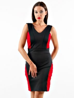 Juicy Coulture Dámske šaty JELB13109-Black-Red