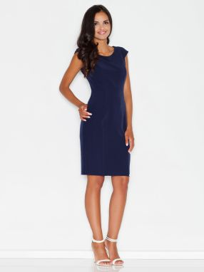 a58cf4180366 Figl Dámske modré šaty