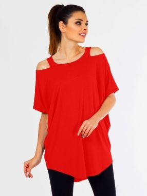 Lental Dámsky top TUNIC KASIA 1-4 RED