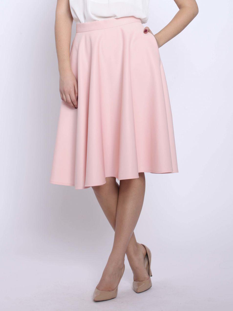 833f21cf8742 Vera Ravenna Dámska sukňa VRV 10401 shell pink značky Vera Ravenna ...