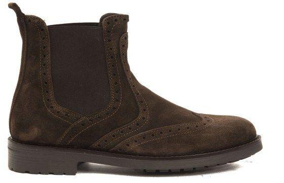 d9a1a86db8 Trussardi Collection Pánske členkové topánky RL-10 CARAGLIO Moro   Brown  značky Trussardi Collection - Lovely.sk