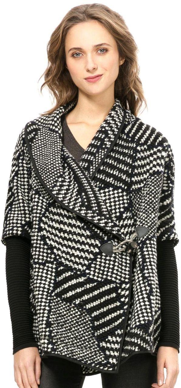 078f1aaee8 Desigual Dámsky sveter 926945_čierna značky Desigual - Lovely.sk