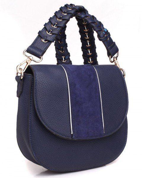 20adcfd0e0 Bessie London Dámska kabelka 1086025 tmavě modrá značky Bessie London -  Lovely.sk