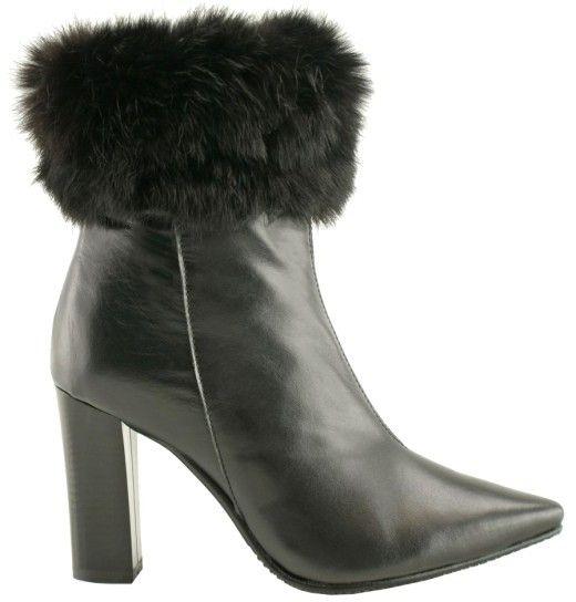 4314866537 Bosccolo Dámska členková obuv 4329 black značky Bosccolo - Lovely.sk