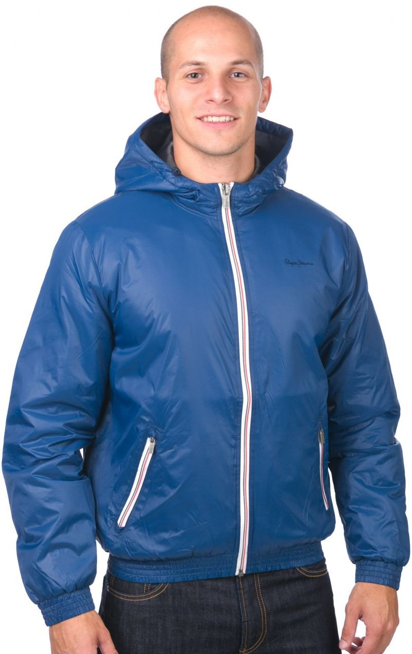 Pepe Jeans Pánska bunda 904963 modrá značky Pepe Jeans - Lovely.sk 55499238c28