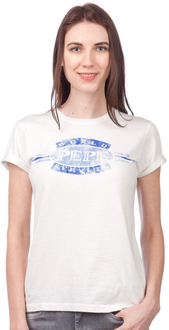 Pepe Jeans Dámske tričko 992613 smetanová značky Pepe Jeans - Lovely.sk 53addafac3
