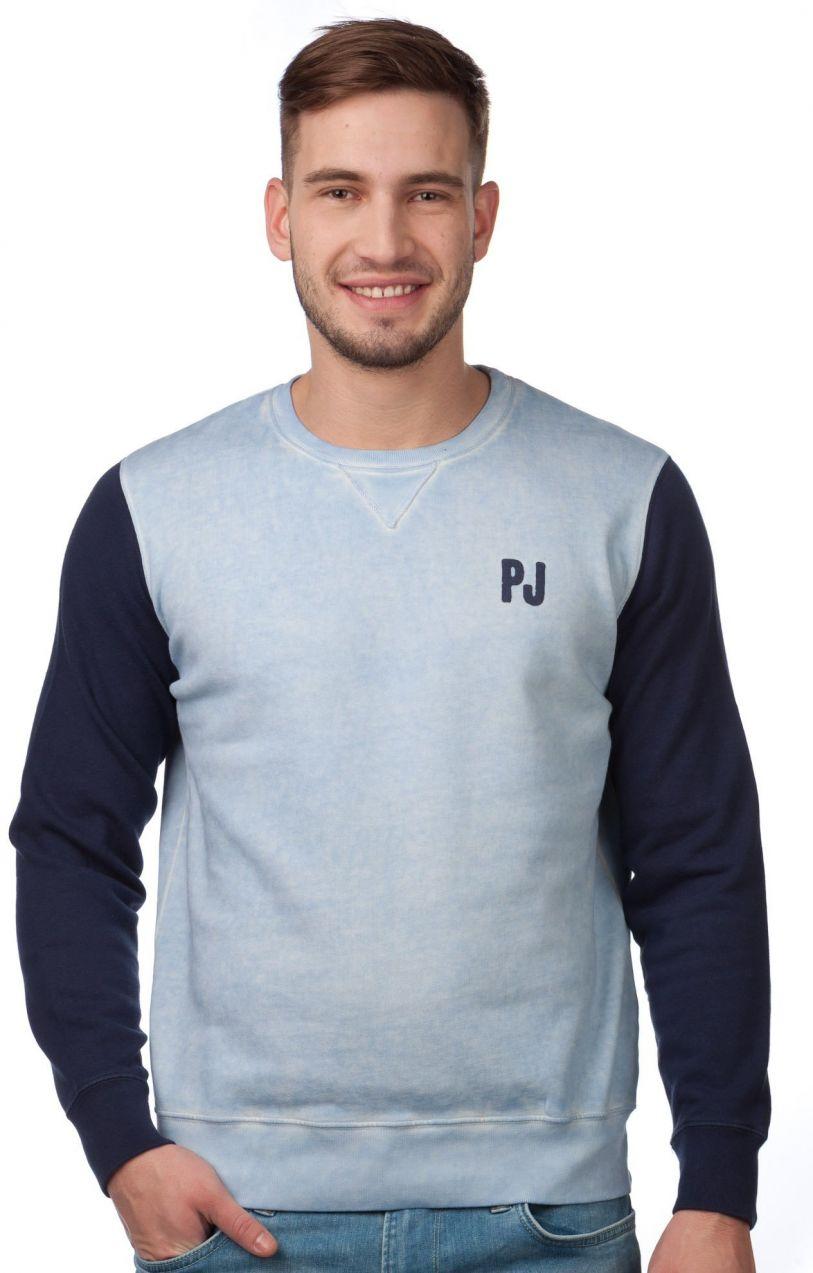 Pepe Jeans Pánska mikina 972962 modrá značky Pepe Jeans - Lovely.sk 749e589a7c