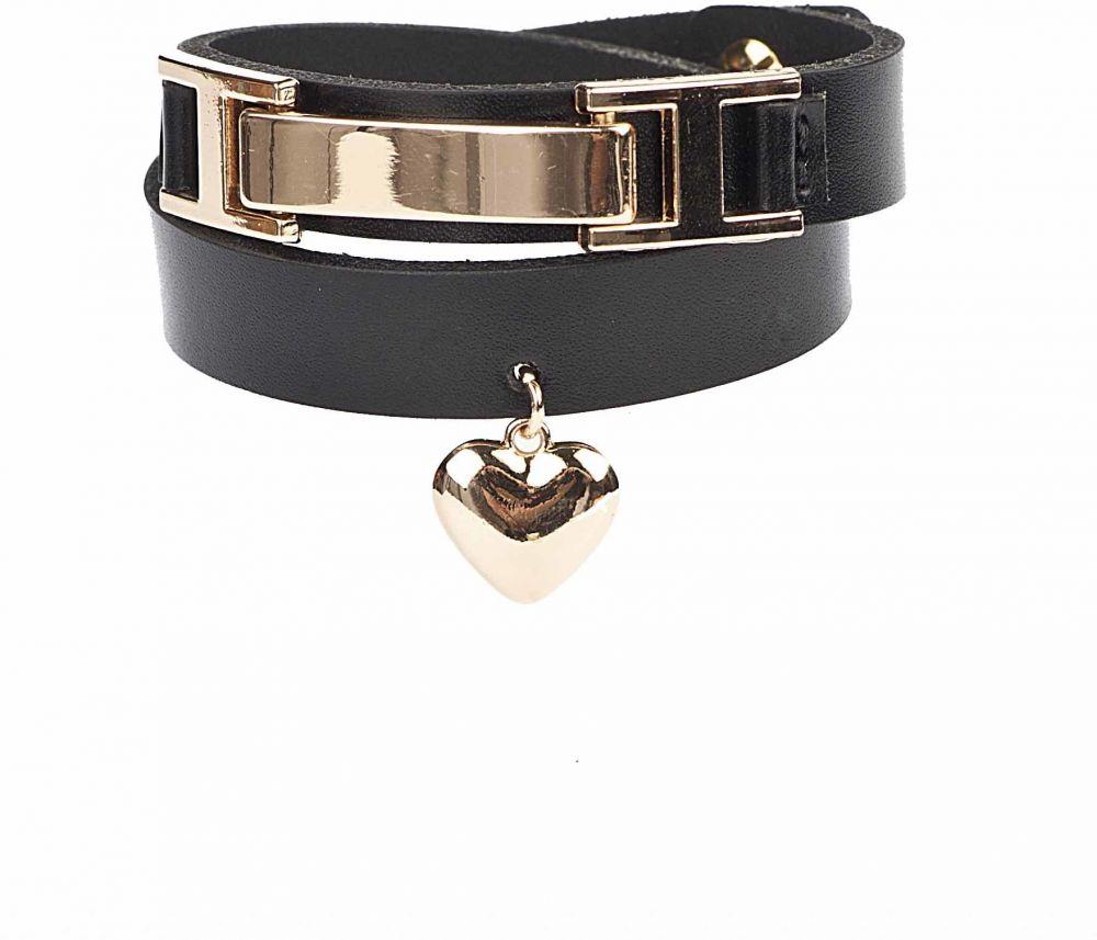 ab55ad9e6 LuAna Dámsky kožený náramok 372 BRACELET BLACK značky LuAna - Lovely.sk