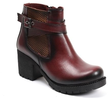 SAPIN Dámske členkové topánky 36101 BURGUNDY značky SAPIN - Lovely.sk cee141e89c2
