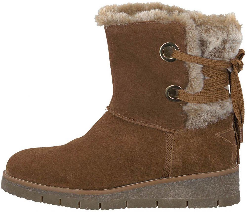 495f545a10 s.Oliver Dámske zimné topánky 1058968 hnědá značky s.Oliver - Lovely.sk