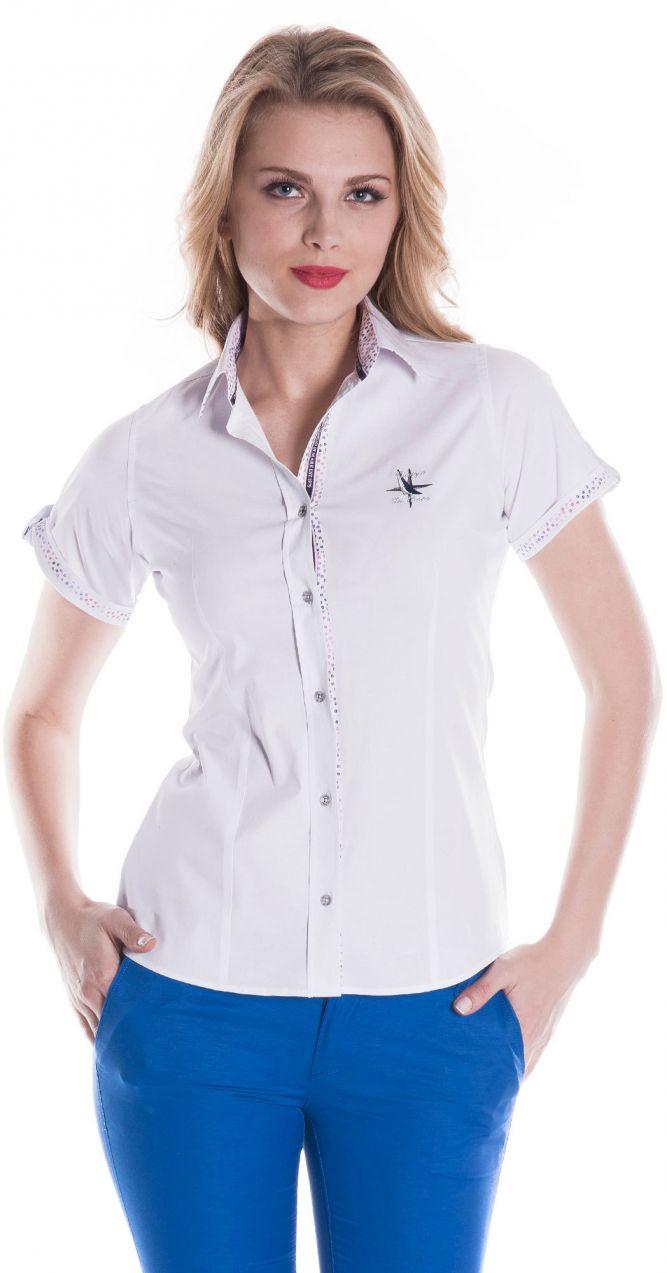 35a29057753e Giorgio Di Mare Dámska košeľa GI5594435 White značky Giorgio Di Mare -  Lovely.sk