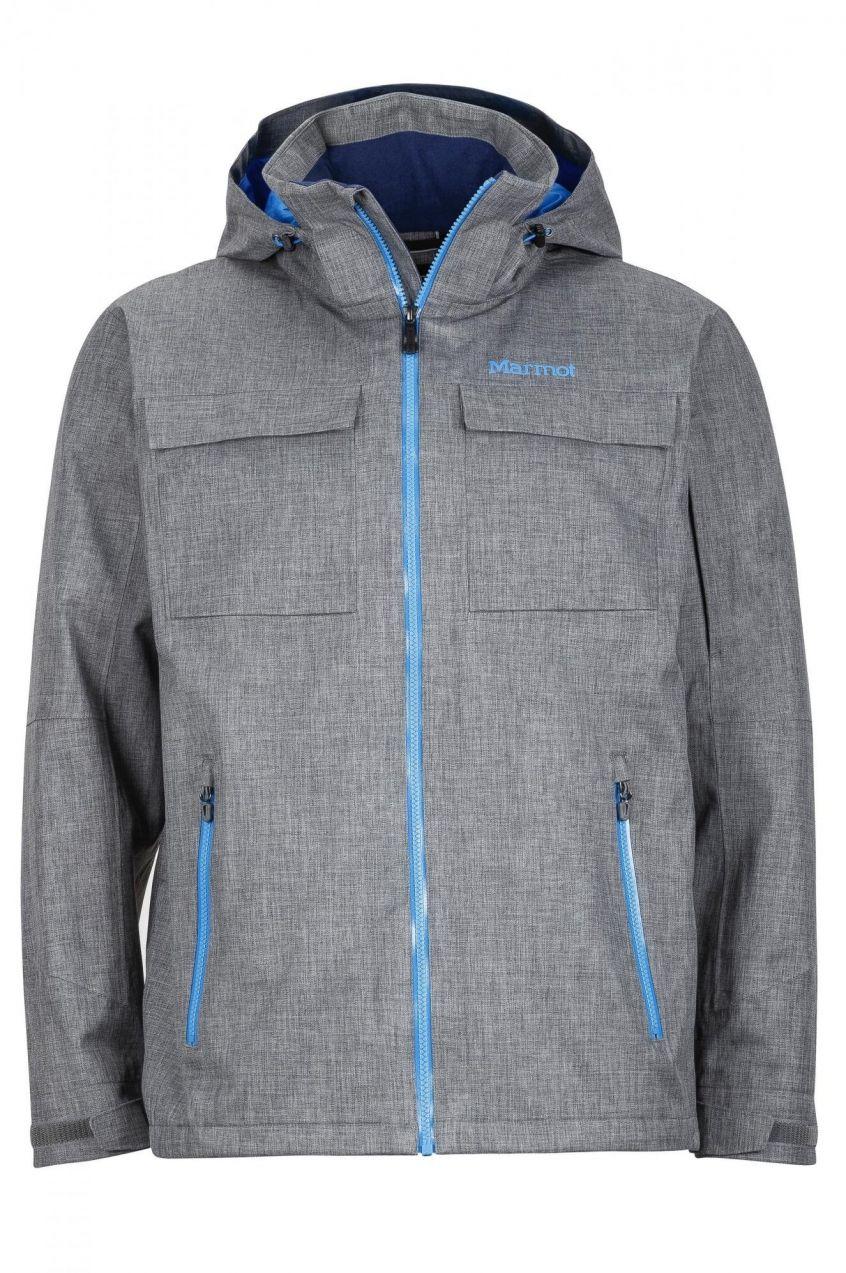 Marmot Pánska bunda šedá   modrá značky Marmot - Lovely.sk 7e55557d71f