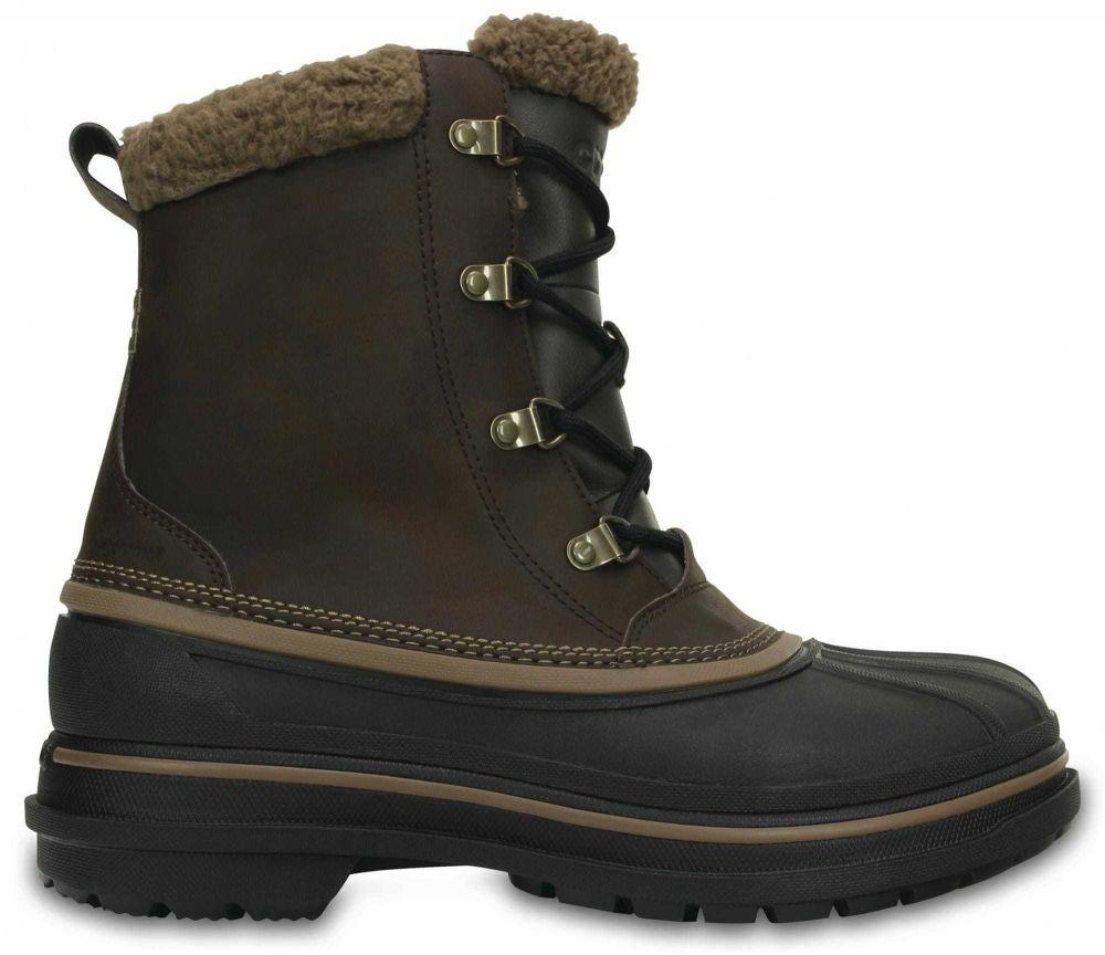 1f78ff27be56 Crocs Pánske zimné topánky čierna   Hnedá značky Crocs - Lovely.sk