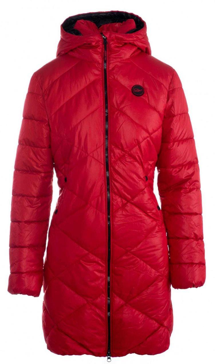 581fc8cdf SAM73 Dámsky kabát 1282921_červená značky Sam 73 - Lovely.sk