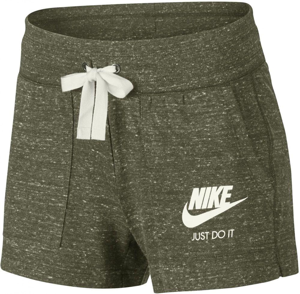 Nike Dámske kraťasy 1285723 zelená značky Nike - Lovely.sk 395f951e7c