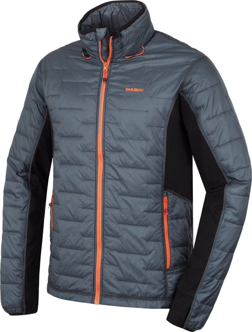 32a036a8bc87 Husky Pánska zateplená lyžiarska bunda 1039023 antracitová značky ...