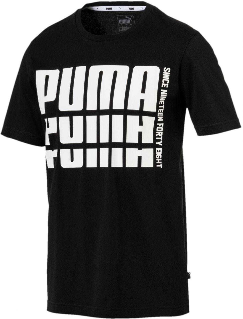 f80d5291cd19 Puma Pánske tričko čierna značky Puma - Lovely.sk