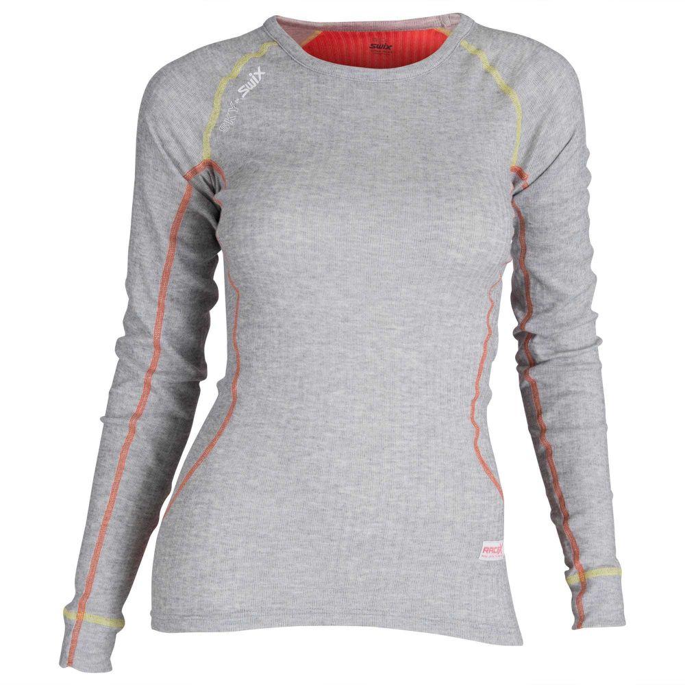 42a0588e255d Swix Dámske funkčné tričko 1094643 oranžová   sivá značky Swix ...