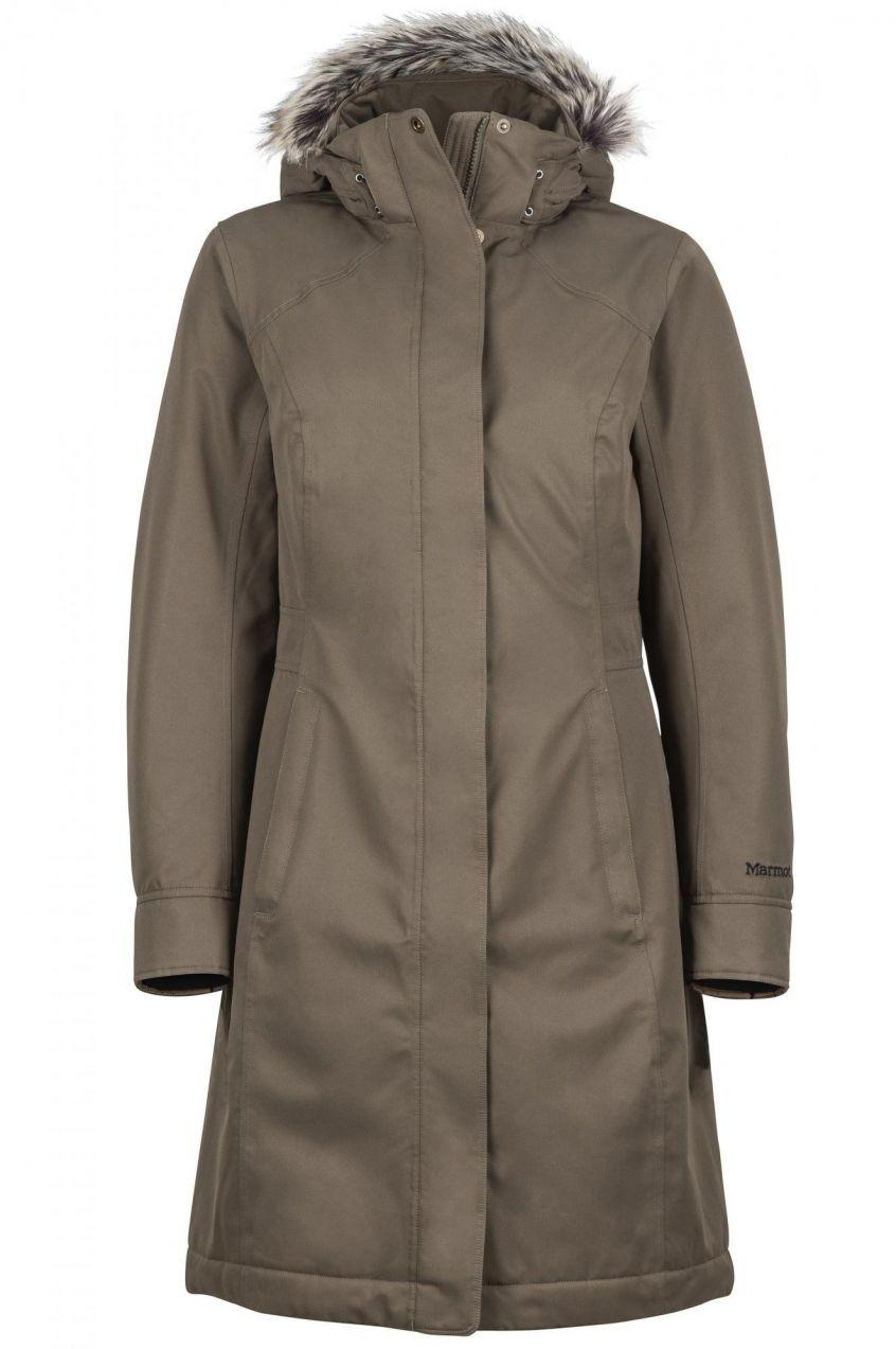 Marmot Dámsky páperový kabát 1086516 khaki značky Marmot - Lovely.sk 8df0abbe79f