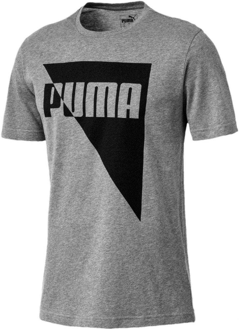 Puma Pánske tričko šedá značky Puma - Lovely.sk 4e1fc51a1d0