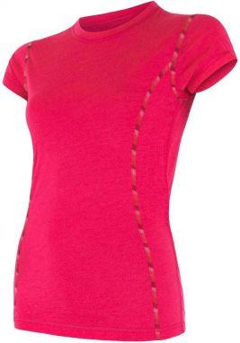 cec1e9b7c0e0 Sensor Dámske funkčné tričko 1273374 ružová   sivá značky Sensor ...