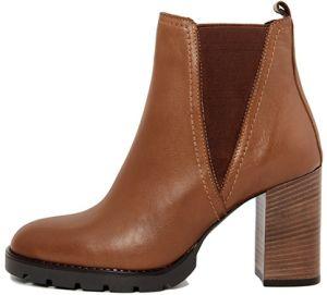 15afd4ef15541 Gusto Členkové topánky na podpätku 5556_ZIGGHY_TANTRA_NERO značky ...