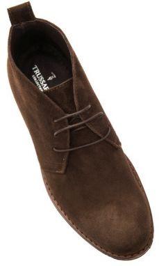 d9c1147134 Trussardi Collection Pánske členkové topánky PL10 MOGLIA Brown   Brown  galéria