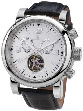 Mathis Montabon Pánske hodinky MM-04 Classique Moderne IP schwarz ... 52acf175844