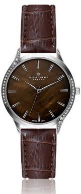 Hnedé dámske kožené hodinky Cheapo Harold Mini Gold značky Cheapo ... a7778d89ef7