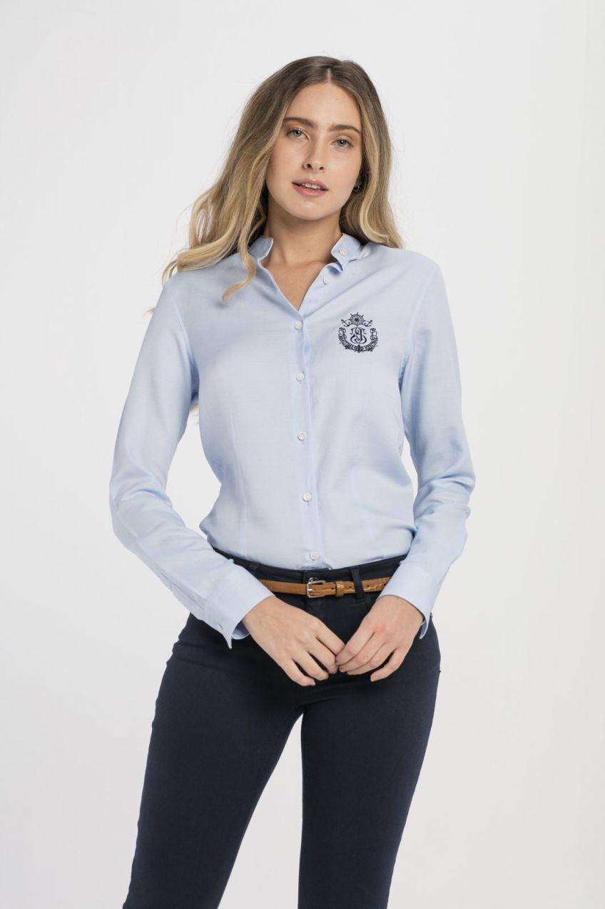 Jimmy Sanders Dámska košeľa 18S SHW4015 BABY BLUE značky Jimmy Sanders -  Lovely.sk fb185aa6804