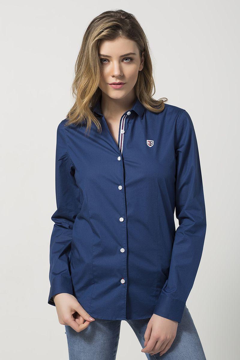 Jimmy Sanders Dámska košeľa JSWS601 NAVY značky Jimmy Sanders - Lovely.sk 595331ba6ea