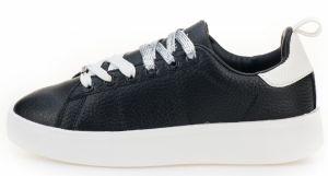 2b02e52cb8 Čierne dámske kvetované tenisky na platforme Pepe Jeans Frida orient ...